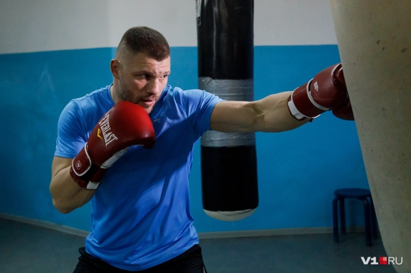 Евгений Романов уже начал подготовку к предстоящему поединку