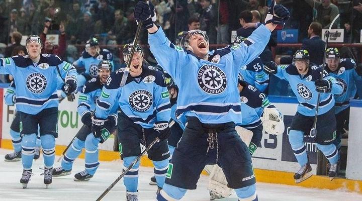 Хоккейная «Сибирь» обыграла уфимский«Салават Юлаев»