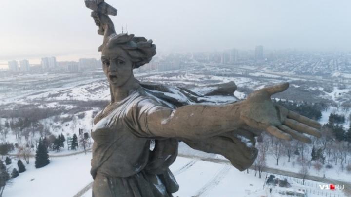 «Родина-мать зовёт!»: легендарную волгоградскую статую отреставрируют за 668 млн рублей