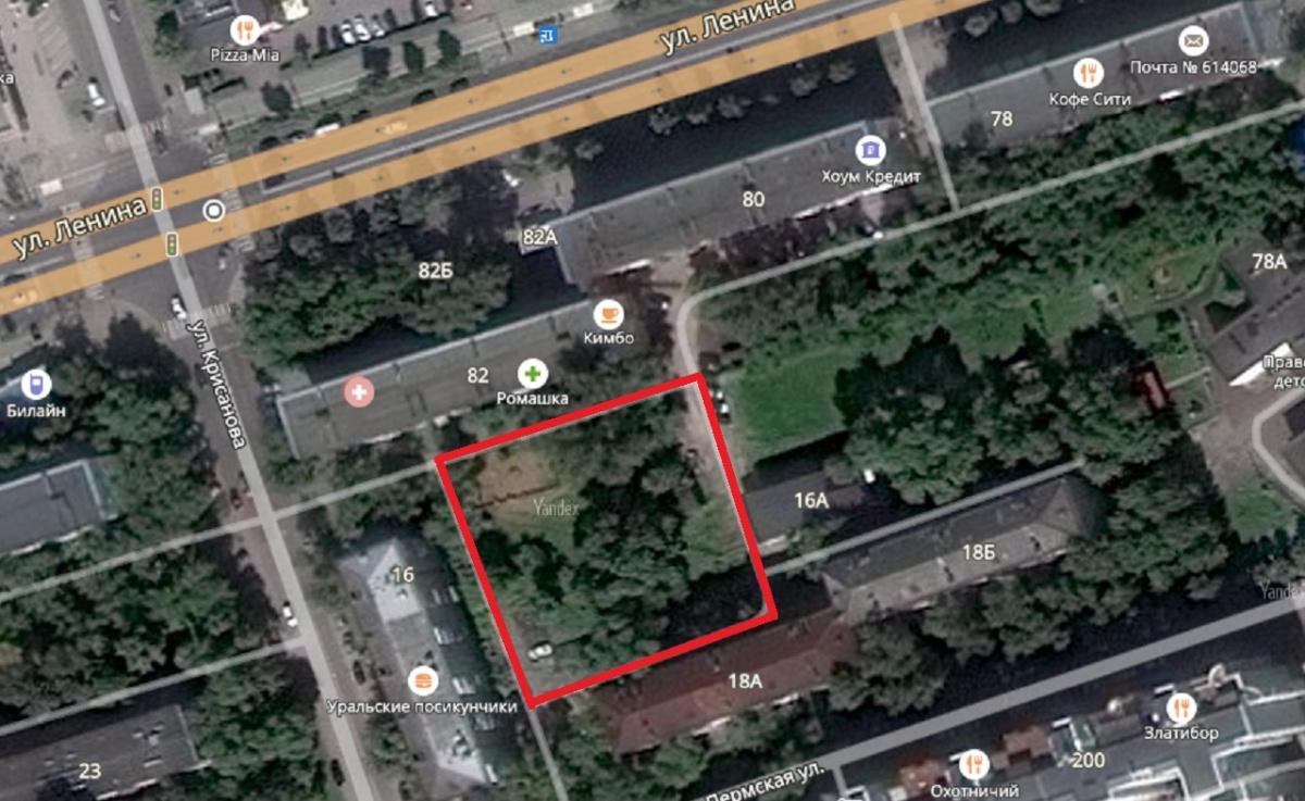 Комиссия поземлепользованию изастройке одобрила новейшую парковую зону вцентре Перми