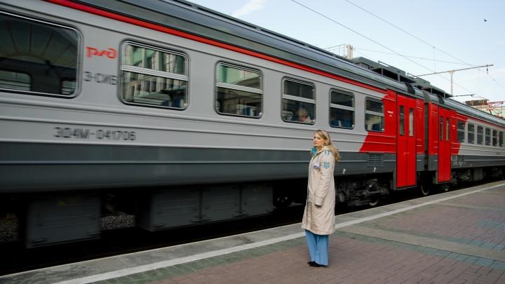 Ремонт на железной дороге поменял расписание семи электричек