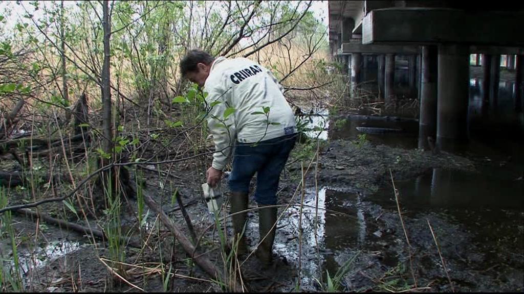 2008 год: специалист CRIIRAD проверяет уровень радиации на реке Тече ниже ПО «Маяк»: анализ ила показал высокое загрязнение цезием-137 (183 000 Бк/кг), стронцием-90 (2700 Бк/кг) и плутонием-239/240 (2200 Бк/кг). Кстати, повышенный уровень радиации есть даже на мосту через Течу на трассе Челябинск — Екатеринбург (по ссылке в конце статьи подробности)