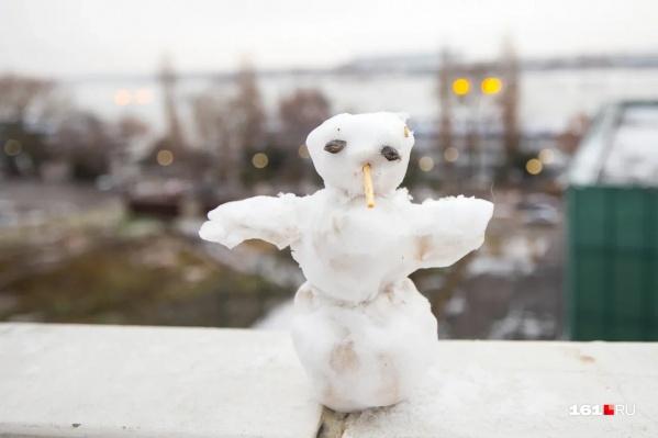 Сильного мороза и выпавшего снега не предвидится на новогодних праздниках