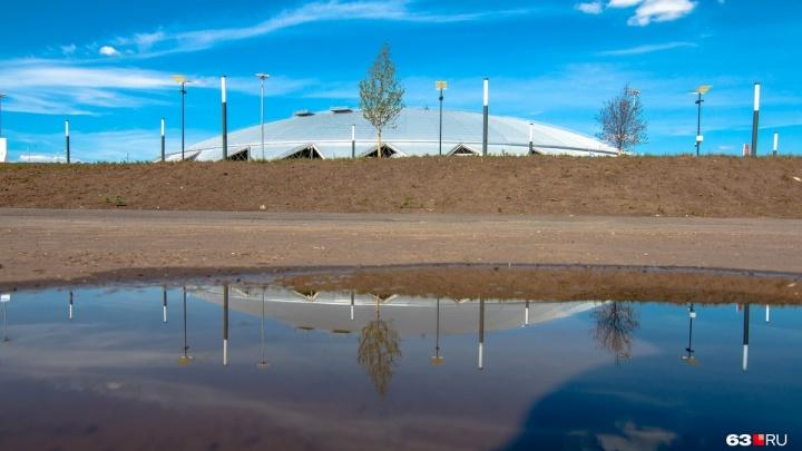 Резервуар для сбора дождевой воды с «Самара Арены» поручили возводить метростроителям