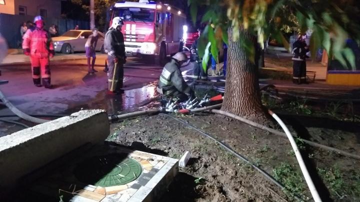 Стала известна причина крупного пожара в жилом доме на улице Лейтенанта Шмидта