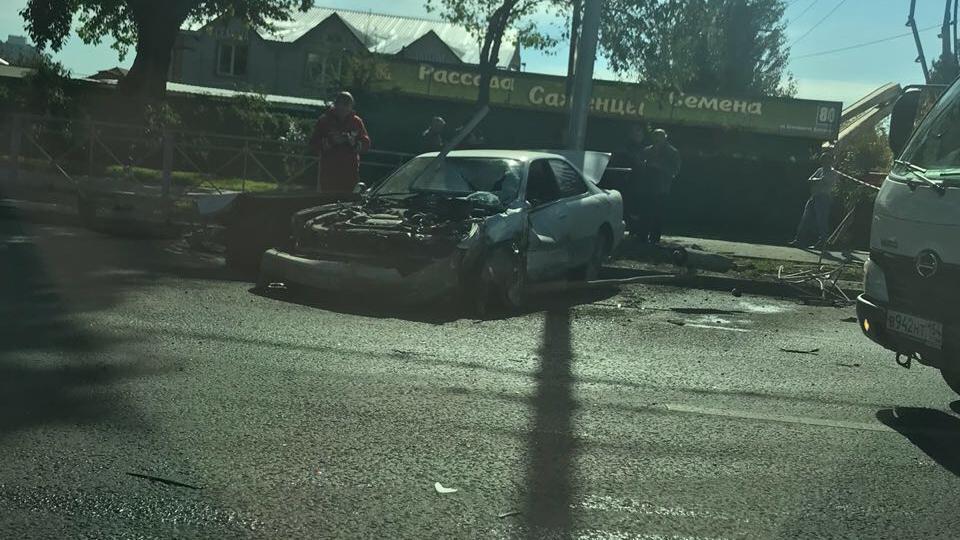 Авария случилась недалеко от остановки «Советская Сибирь»