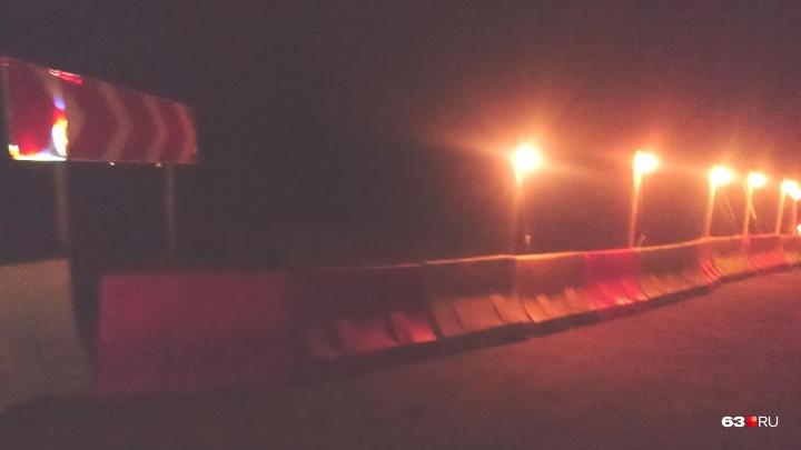 Самарские водители: «Дорогу на Тольятти перекрыли, не предупредив!»