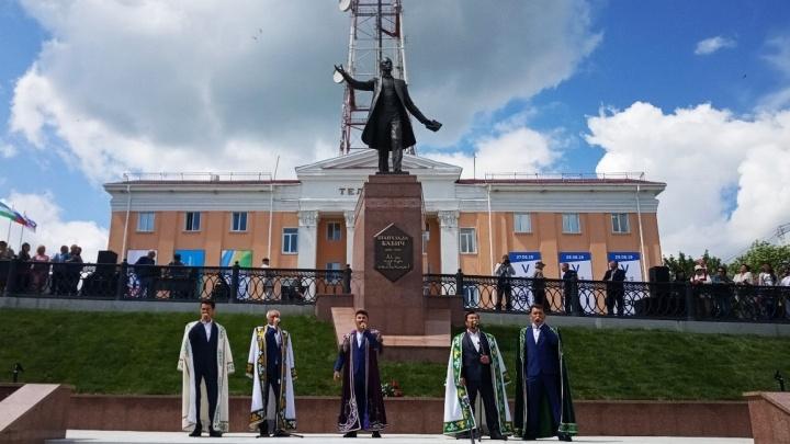 Как это было: в Уфе появился памятник поэтуШайхзаде Бабичу