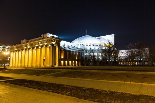На обновление освещения театра потратят 412 миллионов рублей