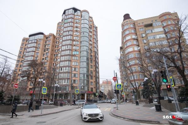 Количество многоэтажек в донской столице с каждым годом растет