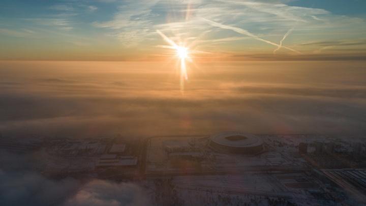 Гололёд, изморозь и снежные зёрна: в Волгоградской области потеплеет до+1 ºС