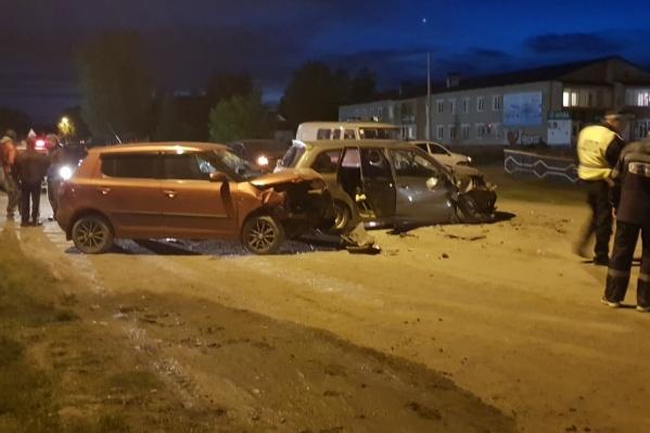 По словам очевидцев, водитель иномарки был нетрезвым