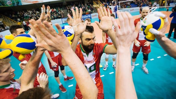Волейбол: «Локомотив» выбился в плей-офф Лиги чемпионов
