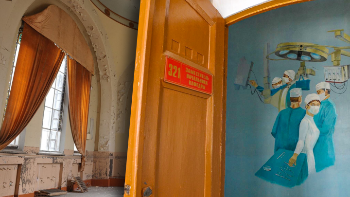 Дворяне, суворовцы, медики: рассматриваем интерьеры бывшего реального училища