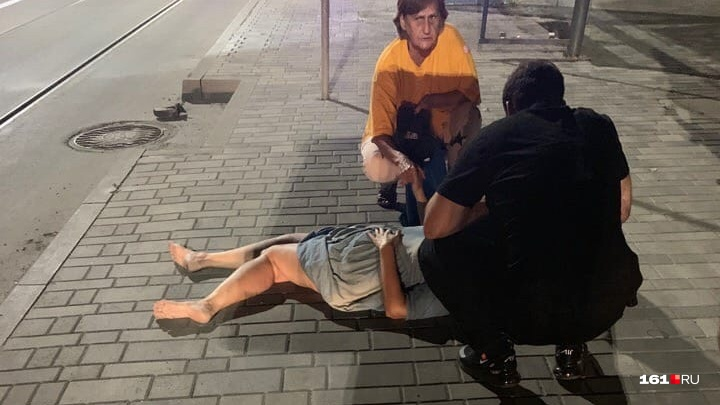 На Станиславского в Ростове автомобиль сбил женщину и уехал