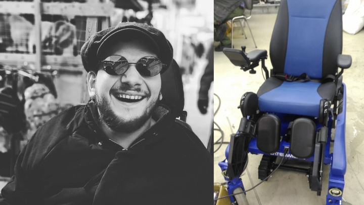 Челябинцы собрали деньги на новую коляску для диджея-инвалида