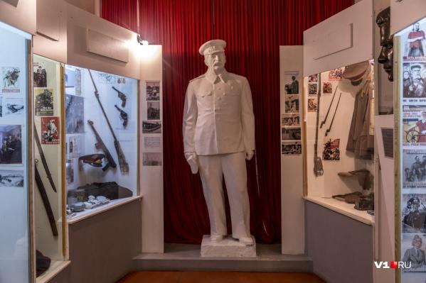 Памятник Сталину коммунисты обещали поставить в конце года на Мамаевом кургане