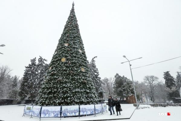 В Ростове на выходных обещают по-настоящему зимнюю погоду