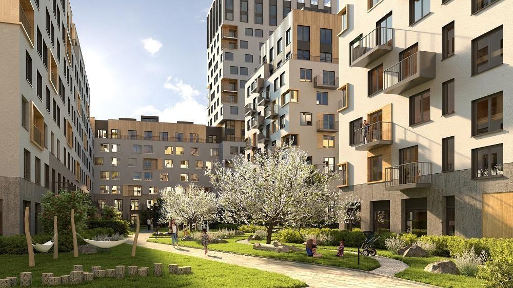 Проект архитектуры и благоустройства квартала с урбан-виллами в «Северном квартале»