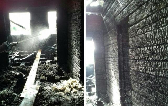 В Башкирии подожгли дом многодетной семьи