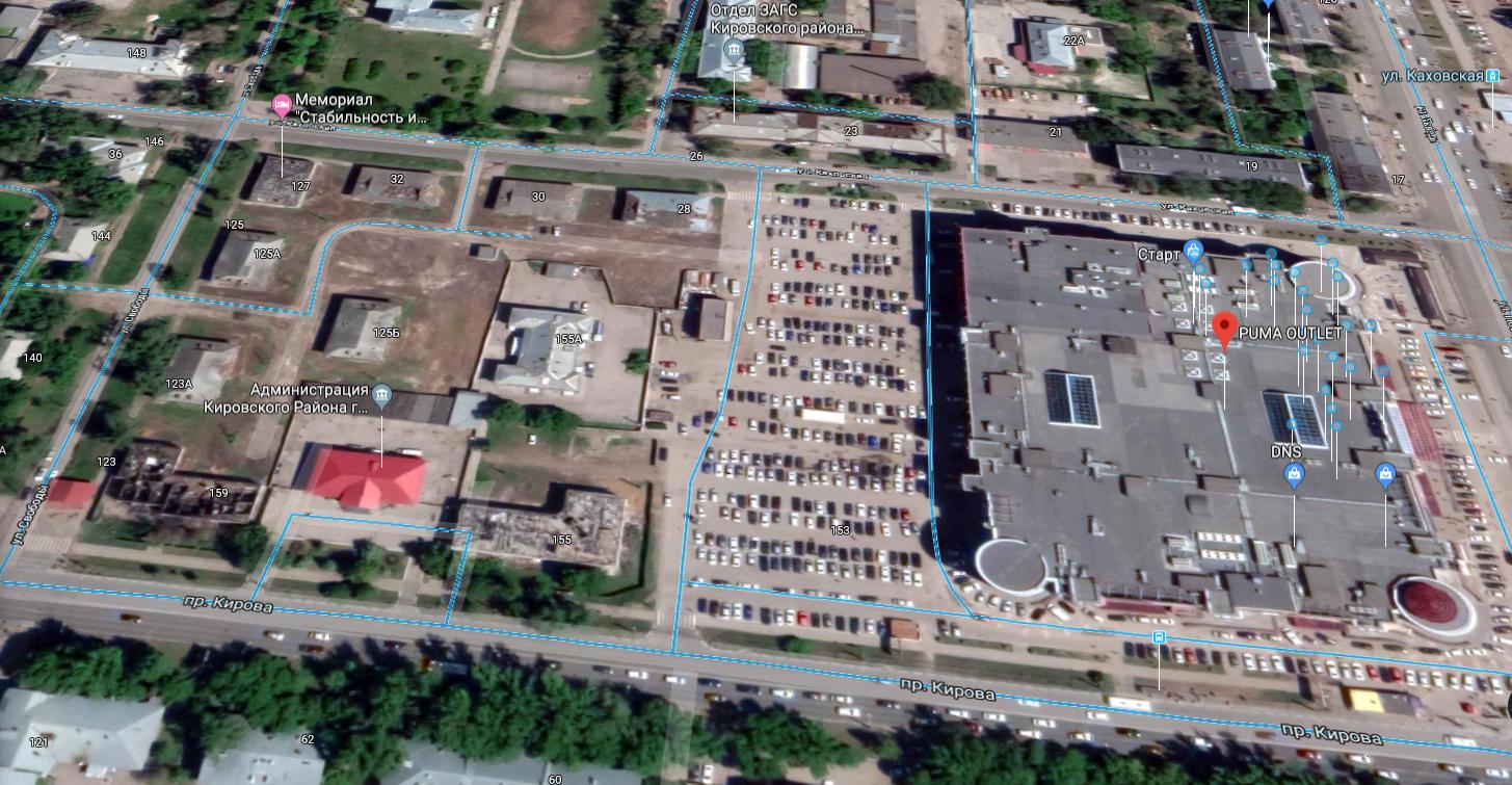 На территории, где планируют застройку, находится администрация Кировского района