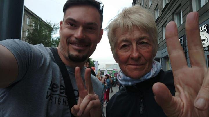Итальянка проехала на велосипеде 3 тысячи километров, чтобы добраться до Новосибирска