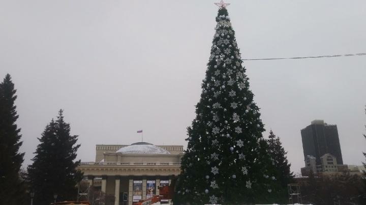 В Новосибирске назвали точную дату открытия ледового городка возле оперного театра