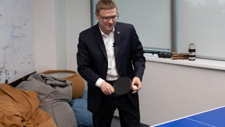 Пинг-понг с Текслером: 5 самых важных ответов врио губернатора Челябинской области на вопросы 74.ru