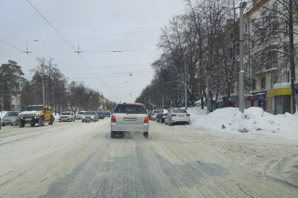 В таком виде сейчас находится улица Богдана Хмельницкого