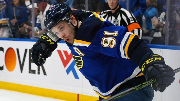 Хоккеист Владимир Тарасенко выбыл из игры на несколько месяцев из-за травмы