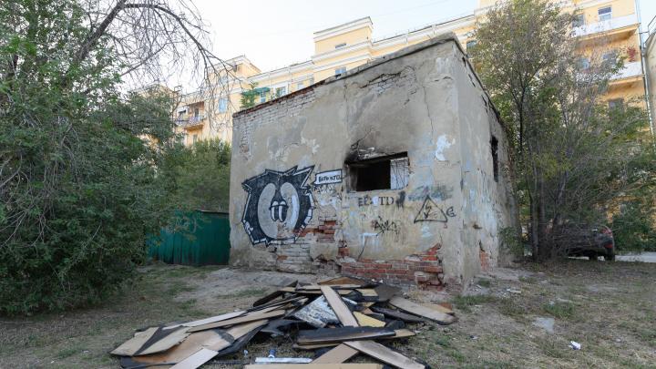 В Волгограде глава администрации снесёт старое здание рядом с площадью Павших Борцов