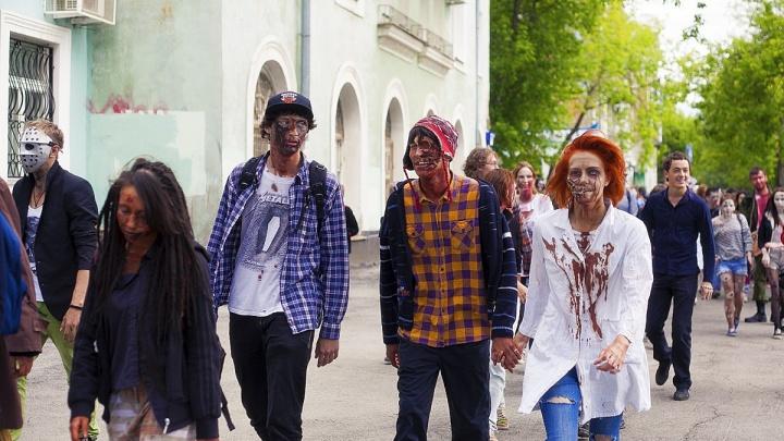 «Парк Горького — частная территория»: организаторы парада зомби в Перми ответили епархии