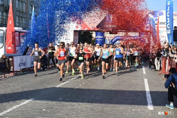Самая длинная дистанция марафона составит 42,2 километра