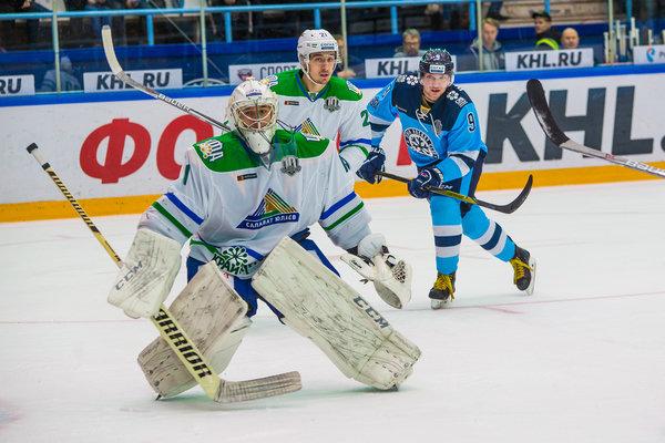Хоккей: «Сибирь» уступила «Салавату Юлаеву»