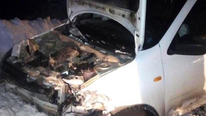 В Прикамье три человека пострадали в ДТП на трассе между Куедой и Чернушкой