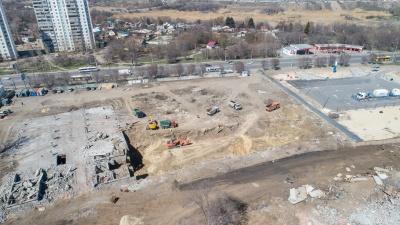 В Волгограде началась застройка территории бывшего Тракторного завода