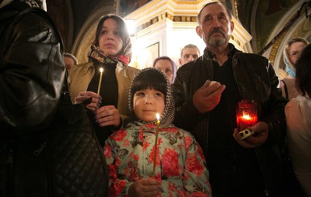 Уфа встречает Светлую Пасху. Фоторепортаж