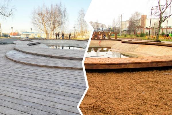 Кому-то новый парк в Тутаеве нравится, а кому-то — нет