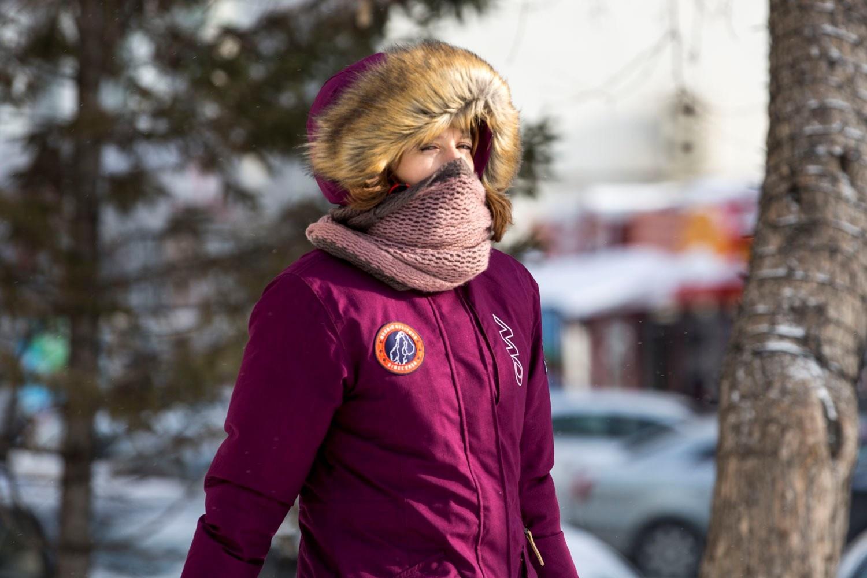 Местами до –42: в Новосибирск идут жгучие морозы