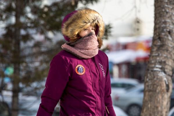 Первые зимние дни теплолюбивых новосибирцев не обрадуют