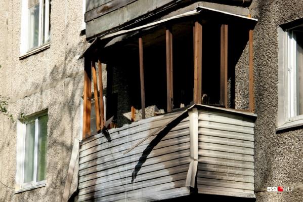 Из-за хлопка в доме повылетали окна