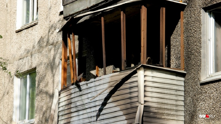 В Прикамье из-за хлопка газа обрушилась стена и перекрытия в многоквартирном доме