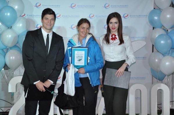 В этот вечер пассажиров аэропорта развлекали конкурсами и викторинами