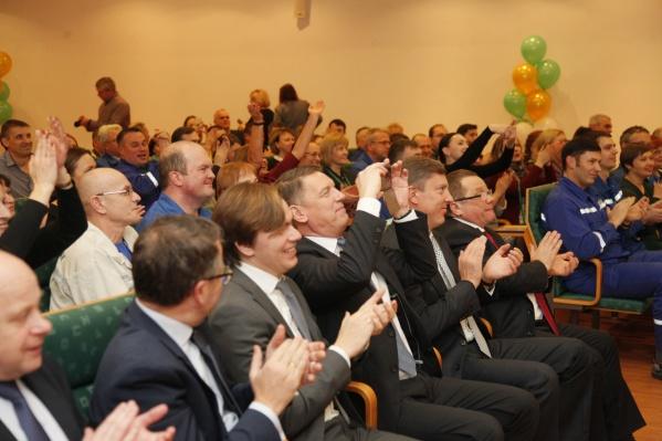 На «Пивзаводе «Ярпиво» прошли мероприятия, приуроченные к 45-летнему юбилею предприятия