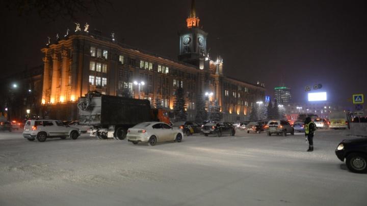 Не надо торопиться: синоптики предупредили о гололедице на дорогах Екатеринбурга