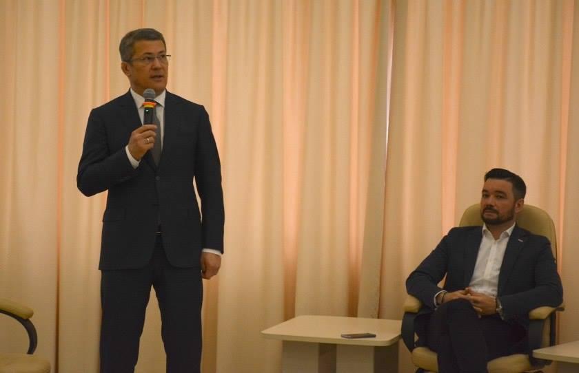 Мурзагулов работал заместителем мэра Красногорска Радия Хабирова