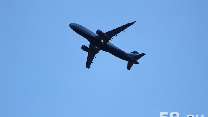 Самолет, летевший из Перми в Анталию, экстренно сел в Казани