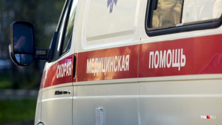 В Ярославской области на трассе М-8 скорая насмерть задавила пенсионера