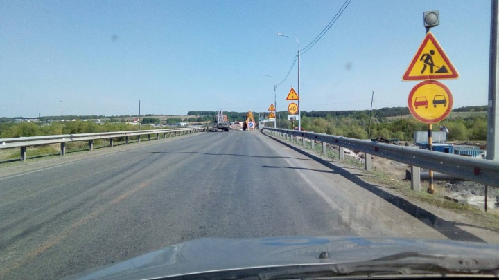 На трассе «Иртыш» в Курганской области введено временное ограничение движения