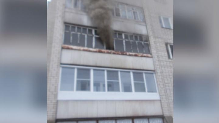 Крупный пожар в Ярославле: сгорели две квартиры
